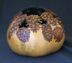 Pinecone Gourd |Pinned from PinTo for iPad|