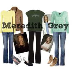"""""""Meredith Grey"""" by heartbeats-harder on Polyvore"""