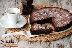 Torta tenerina Nutella Cookies, Best Banana Bread, Tiramisu, French Toast, Deserts, Food And Drink, Yummy Food, Sweets, Chocolate