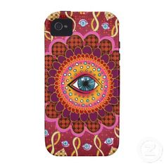 Psychedelic iPhone case