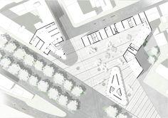 """New primary element"" Masterplan_Social Housing in Piazzale Accursio, Milan. NamJun Kim_Politecnico di Milano"