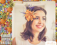 Headband da coleção de carnaval 2016.