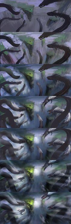 9-head dragon2-1 by wanbao.deviantart.com on @deviantART