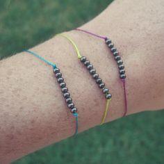 DIY Dainty Metal Beaded Bracelets DIY Jewelry DIY Bracelet