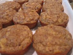 Gluten and grain free apple muffins, made with almond meal. (slather some Kerrygold butter and you're good to go for breakfast.)