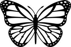 Monarch butterfly pattern & monarchfalter muster & … – Welcome Monarch Butterfly Costume, Monarch Butterfly Tattoo, Butterfly Outline, Butterfly Stencil, Butterfly Clip Art, Butterfly Template, Butterfly Painting, Butterfly Pattern, Butterfly Wallpaper