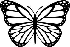 butterfly silhouette - Buscar con Google