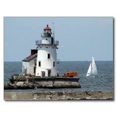 Lake Erie Lighthouse Summer Post Cards SOLD November 8 2014, to a buyer in China. Thank you to the buyer in China, glad you liked my postcard  :)