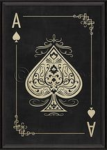 Image result for ace of spades wall art