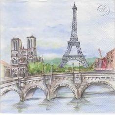 Servilleta clasico de Paris