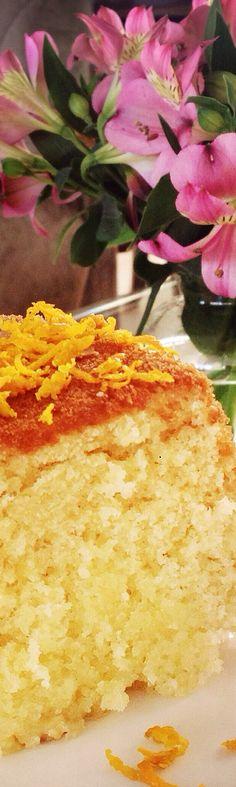 Receita: bolo caseiro de laranja