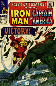 Cover for Tales of Suspense (1959 series) #83