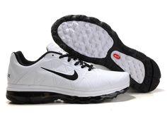 Air Max 2011 Men Shoes PU White Black  50.70  Save: 53% off