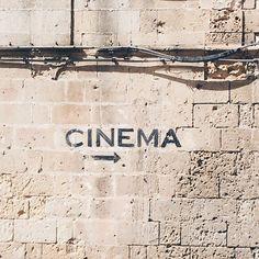 Lo-fi cinema type in Matera nice sans!