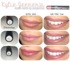 Kylie jenner lip colors