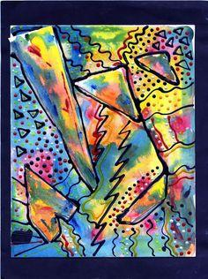 Kandinsky Student Art