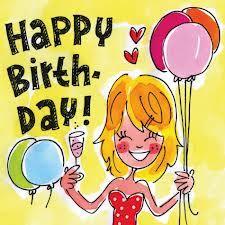 by Blond Amsterdam Happy Birthday Minions, Happy Birthday Girls, Twin First Birthday, Happy Birthday Greeting Card, Happy Birthday Messages, Happy Birthday Images, Birthday Pictures, Birthday Fun, Birthday Cards