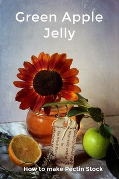 Recipe // Green Apple Jelly // Amelie & Richard and Family on @stellerstories