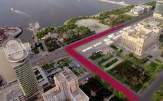 Baku se prepara para albergar su primer gran premio de Fórmula 1 en un circuito urbano diseñado por Tilke y que al que ahora podemos aproximarnos en un tour