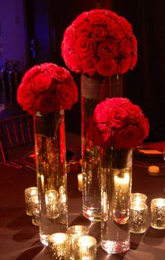 Pearls W Floating Candles Center Pieces #wedding, #weddings, https://facebook.com/apps/application.php?id=106186096099420
