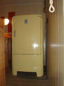 Vintage ge general electric refrigerator type jb6 fridge - Frigidaire americain general electric ...