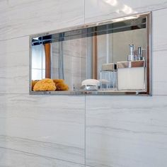 From herringbone tile to marble slabs and beyond, discover the top 70 best shower niche ideas. Explore recessed shelf designs for soaps and shampoos. Tile Shower Niche, Bathroom Niche, Shower Tub, Bathroom Ideas, Bath Tub, Washroom, Bath Ideas, Bathroom Remodeling, Bathroom Inspiration