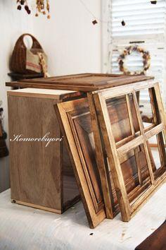 「 セリアのフレームをプチプラリメイク♪窓枠を製作♪ 」の画像|komorebiyori|Ameba (アメーバ)