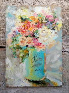 «Sunny Bouquet» — Valerie Lazareva Impressionist, Art For Sale, Sunnies, Aqua, Bouquet, Paintings, Fine Art, Tips, Artist