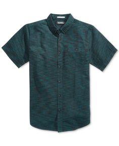 Ezekiel Men's Woodward Cotton Abstract-Print Shirt