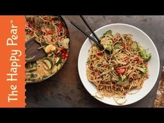 Sweet Peanut Coconut Noodle Curry