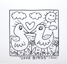 James Rizzi Birds | Art Ideas For School | Pinterest | James D ...