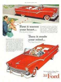 55 Ford advertisement