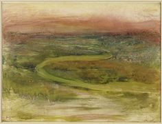 Degas  Pastel over Monotype