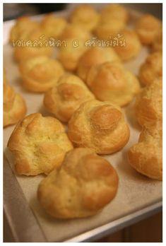"""PANTIP.COM : D5867584 @@ ครัวแม่มิ้น @@ เครื่องตีไข่เจ๊งไปแล้ว แต่ก็ยังมีขนมมาฝากค่ะ """"เอแคลร์"""" สูตรอร่อยจริงอร่อยจังค่ะ ^^ [การทำอาหาร]"""
