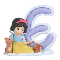 Precious Moments Disney Alphabet E Figurine, 2-3/4-Inch