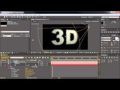 3D Text - After Effects Tutorial