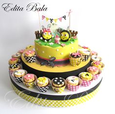 The Hive Disney Cake by Edita Bala :)