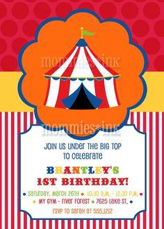 love a good circus theme!