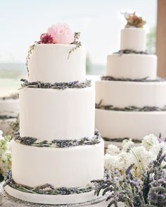 Spring Wedding Cakes That Are (Almost) Too Pretty to Eat - Cakes - Martha Stewart Weddings