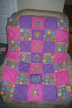Christine Taylor Designs rag quilt
