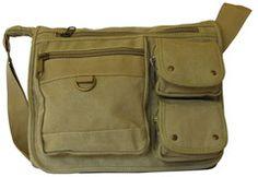 Canvas Travel Cross Body Shoulder Bag - Serbags.com