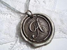 A - initial pendant