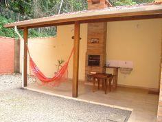casa Condomínio Verde Mar  - AMPLA ÁREA COBERTA COM CHURRASQUEIRA