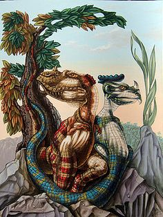 """""""The Lost World"""" by Sir Arthur Conan Doyle (Pittura), cm da Victor Molev """"The Lost World"""" by Sir Arthur Conan Doyle. Optical Illusion Paintings, Optical Illusions Pictures, Illusion Pictures, Cool Illusions, Art Optical, Hidden Images, Image 3d, Funny Tattoos, Illusion Art"""