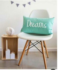 Dreams pillow, cojín mecedora