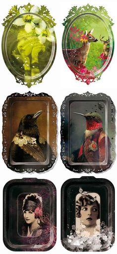 I LOVE DESIGN: ibride's Bird Trays Contemporary Furniture, Luxury Furniture, Soul Design, Decorative Trays, Animal Heads, Tray Decor, Creative Home, Altered Art, Crib