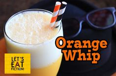 Let's Eat Fiction!: Orange Whip Recipe from The Blues Brothers