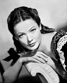 Gene Tierney. She is one of my favorites from the 40's screen stars. She was in a variety of roles during her career.