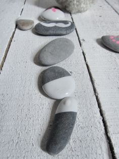 Dipped stones