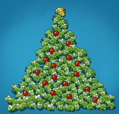 Christmas Frogs.